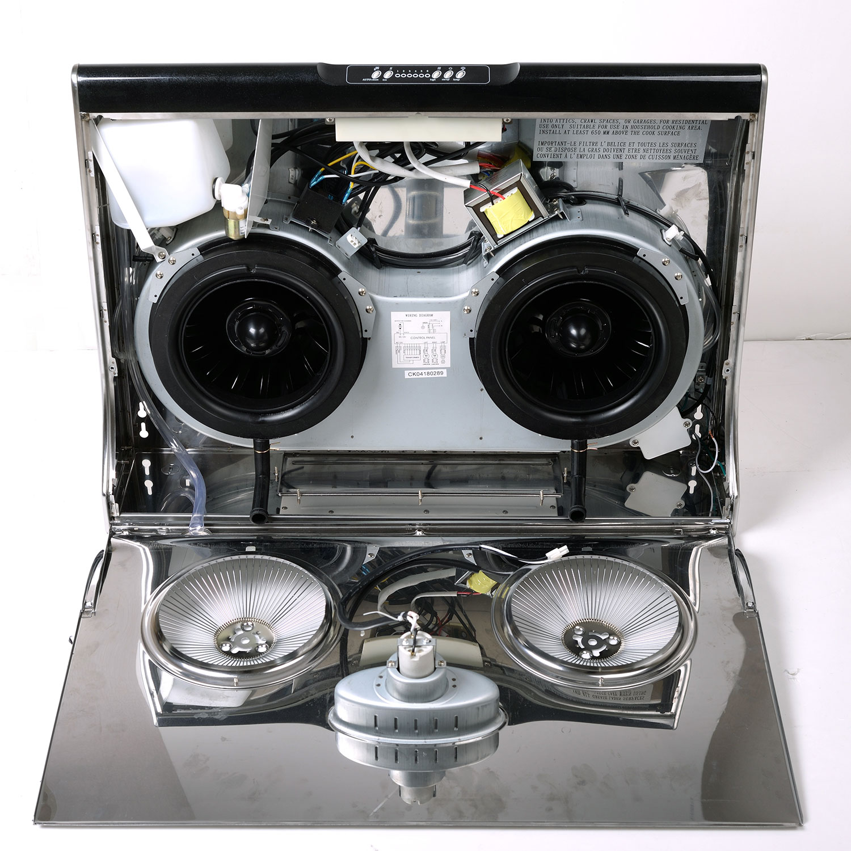 6 Speeds Tatsumaki TA-395 Under Cabinet Range Hood Auto Cleaning
